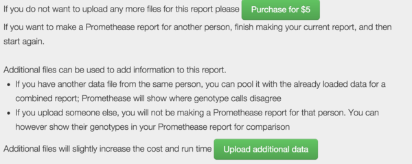 Promethease/Where is my other report - SNPedia